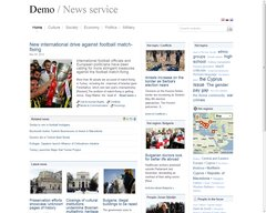 Demo service for the news media
